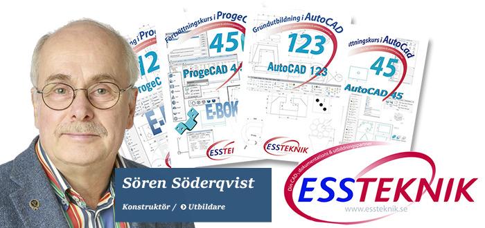 CAD-utbildningar från ESS-teknik