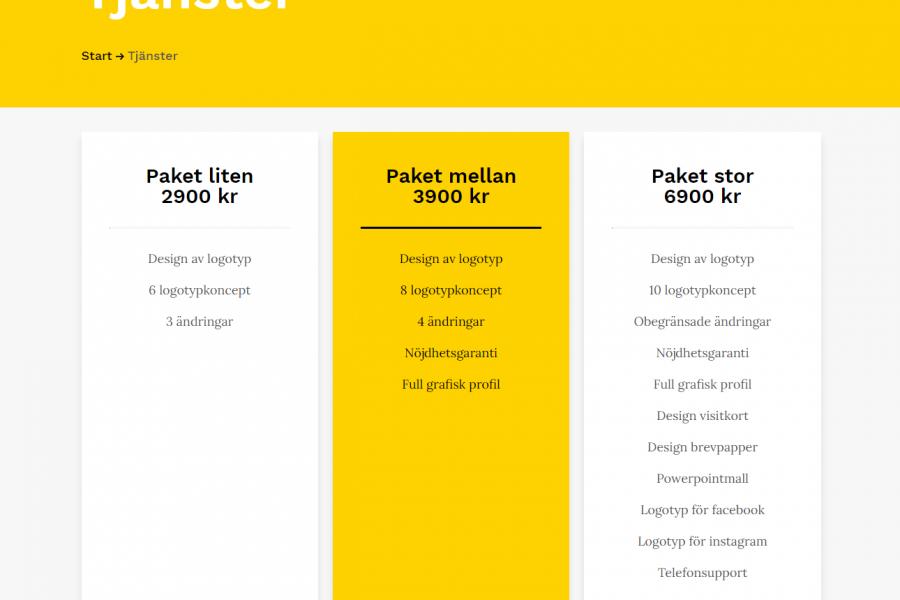 Få rätt grafisk profil – Svensk Logotypdesign